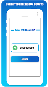 screenshot of Free Robux Counter For Roblox version 1.0