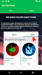 screenshot of Free Robux Now - Earn Robux Free Today - TIPS 2019 version 1.0