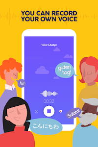 screenshot of Voice Changer - Funny sound effects version 1.0.4