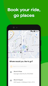 screenshot of Gojek - Ojek Taxi Booking, Delivery and Payment version 3.34.1