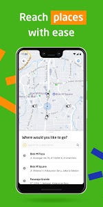 screenshot of GOJEK - Ojek Taxi Booking, Delivery and Payment version 3.30.2