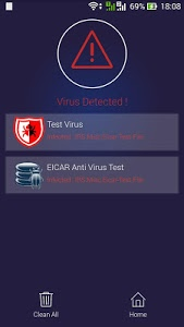 screenshot of GPaddy Antivirus Pro version 1.0.1