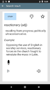 screenshot of GRE Vocabulary - Learn English words version 1.2.07