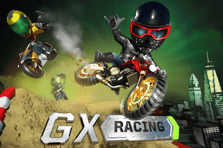 screenshot of GX Racing version 1.0.77