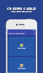 screenshot of Gems For Clash Royale : Guide version 3.0