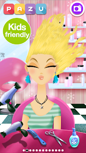 screenshot of Girls Hair Salon version 2.15