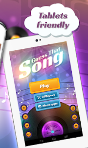screenshot of Guess The Song - Music Quiz version 3.6.4