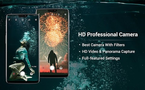 screenshot of HD Camera - Beauty Cam with Filters & Panorama version 1.6.0