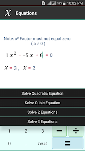 screenshot of Handy Calculator Scientific Calculator Free version 2.0