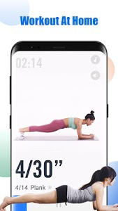 screenshot of HealthFit - Abs Workout with No Equipment Needed version 1.2.6