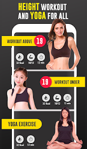 screenshot of Height increase Home workout tips: Add 3 inch version 2.7