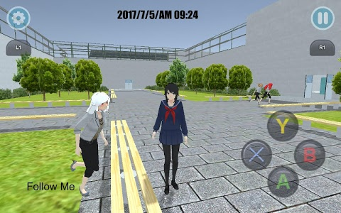 screenshot of High School Simulator 2018 version 2.3