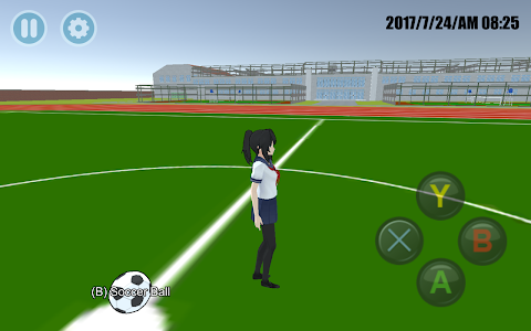 screenshot of High School Simulator 2018 version 5.7