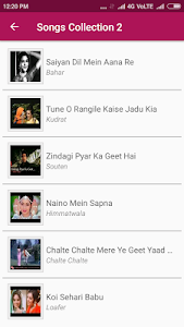 screenshot of Hindi Old Classic Songs Video version 1.5.2