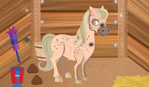 screenshot of Horse Care Stable - Animal Caring version 1.0