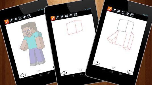 screenshot of How to Draw Minecraft version 1.0