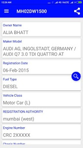 screenshot of How to find vehicle owner details version 18