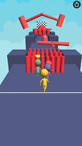 screenshot of Human Race Runner! version 0.7