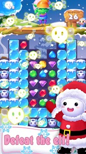 screenshot of Ice Crush 2019 - A new Puzzle Matching Adventure version 2.8.9