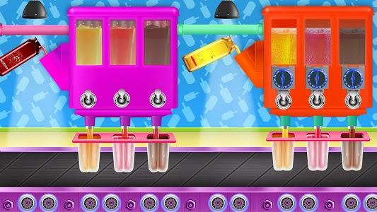 screenshot of Ice Popsicle Factory: Frozen Ice Cream Maker Game version 1.0.2