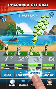 screenshot of Idle Golf \ud83c\udfcc\ufe0f version 1.0