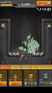 screenshot of Idle Zombies version 1.1.12
