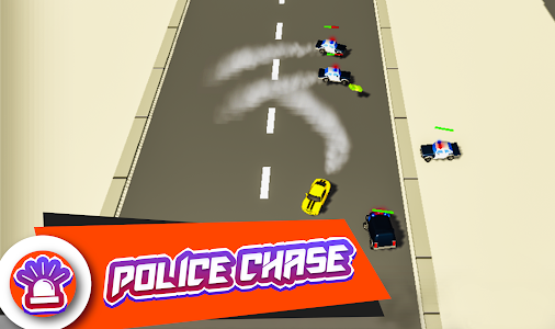 screenshot of Police Car Chase Simulator 2019 version 1.0