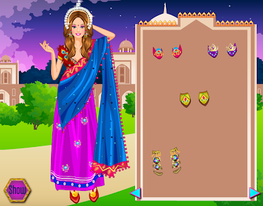 screenshot of Indian Princess Dress up & Makeup - Game For Girls version 2.1.9