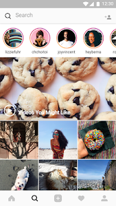 screenshot of Instagram version Varies with device