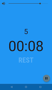 screenshot of Interval Timer version Varies with device