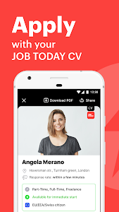 screenshot of JOB TODAY: Find Jobs, Build a Career & Hire Staff version 1.70