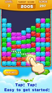 screenshot of Jelly Cube Pop 2019:Crush cubes version 1.0.8
