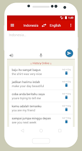 screenshot of Kamus Bahasa Inggris version 3.6.79