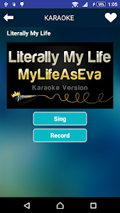 screenshot of Sing Karaoke version 2.8.28