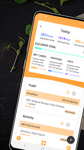 screenshot of Keto Manager: Low Carb Diet Tracker, Macro Counter version 2.0
