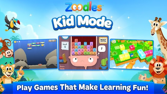 screenshot of Kid Mode: Free Learning Games version 6.0.5231