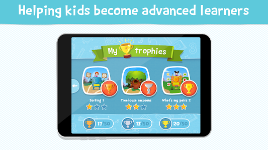 screenshot of Kids Academy: Talented & Gifted version 1.6.0