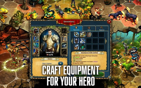 screenshot of King's Bounty Legions: Turn-Based Strategy Game version 1.10.80