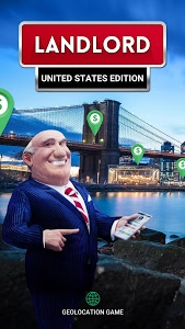 screenshot of Landlord Tycoon - Money Investing Idle with GPS version 2.6.1