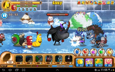 screenshot of Larva Heroes: Lavengers 2014 version 1.5.0