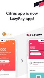 screenshot of LazyPay – Instant Personal Loan Online & Pay Later version 4.2.0