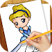 Download Learn To Draw Princess, Queens 3.01 APK
