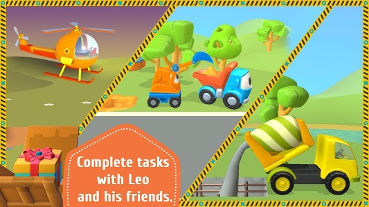 screenshot of Leo the Truck and cars: Educational toys for kids version 1.0.41