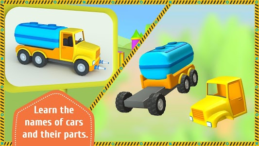 screenshot of Leo the Truck and cars: Educational toys for kids version 1.0.34