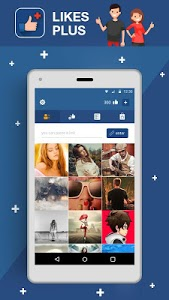 screenshot of Likes for FB version 1.0.1