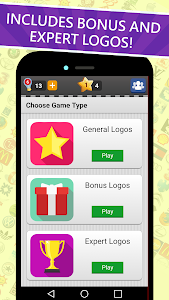 screenshot of Logo Game: Guess Brand Quiz version 4.8.0