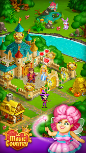 screenshot of Magic City: fairy farm and fairytale country version 1.47