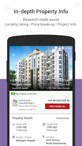 screenshot of Magicbricks Property Search & Real Estate App version Varies with device