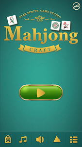 screenshot of Mahjong Craft version 1.5.1