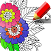 Mandala coloring games - Coloring book for adults
